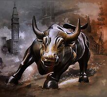 Raging Bull.New York. by andy551