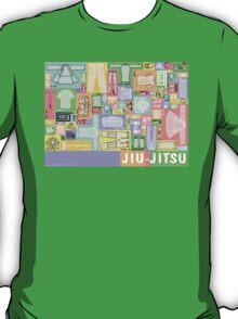 Jiu-Jitsu Gear Layout T-Shirt