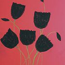 Black Tulips by George Hunter