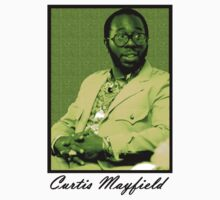 Curtis Mayfield Green by TikTakTwo