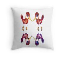 Mythical Birds Throw Pillow
