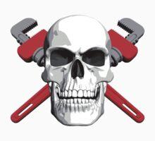 Plumber Skull by dxf1969