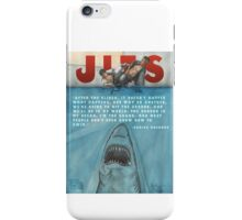 JITS - Mat is Ocean - TITLE AND QUOTE iPhone Case/Skin