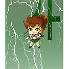 Chibi Sailor Jupiter by artwaste