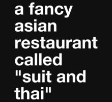 a fancy asian restaurant by Scott Marshall