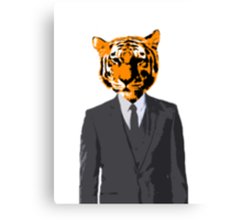 Khajiit Businessman Canvas Print