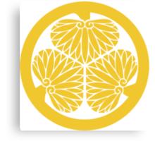 Tokugawa Family Crest Canvas Print