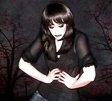 Dark Winter - Self Portrait by Jaeda DeWalt
