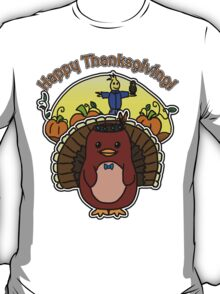 Thanksgiving - Dapper - Moo and Friends T-Shirt