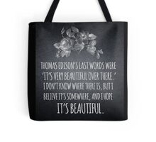 Beautiful Over There Tote Bag