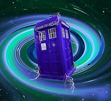Doctor Who - TARDIS Vortex  by Amanda Vontobel Photography