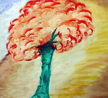Tree - Acrylic Painting on Canvass by mayapagal