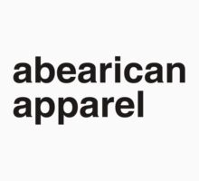 ABEARICAN APPAREL by lgbtdesigns