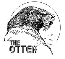 THE OTTER Photographic Print