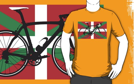 Bike Flag Basque (Big - Highlight) by sher00