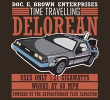 Back to the Future - Doc Brown Delorean Time Machine by metacortex