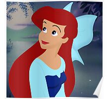 Ariel in the Lagoon Poster