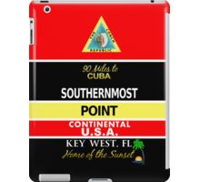 Southernmost Point Buoy Key West iPad Case/Skin