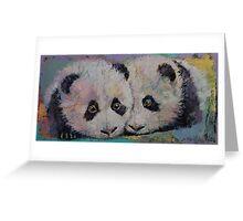 Baby Pandas Greeting Card