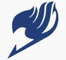 Fairy Tail Guild Blue Logo by tyvansant