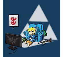 Just Wind Wakin' Up (Legend of Zelda Wind Waker) Photographic Print