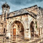 Ancient Church in Byblos Lebanon by Joshua McDonough