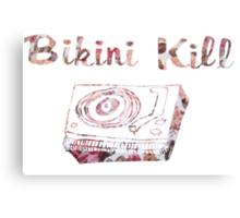 Bikini Kill Floral Logo Canvas Print