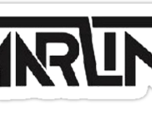 Omar LinX Logo BLACK Sticker