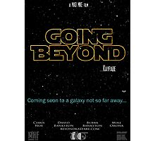 Going Beyond... Kayfabe Poster 4 Photographic Print