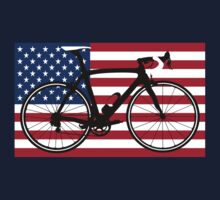 Bike Flag USA (Big - Highlight) by sher00