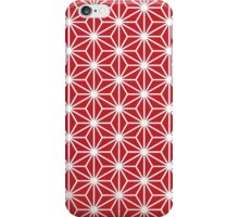Japanese red star iPhone Case/Skin