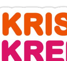 krispy kreme Sticker