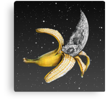 Moon Banana! Canvas Print
