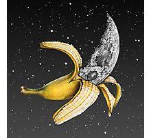 Moon Banana! Photographic Print