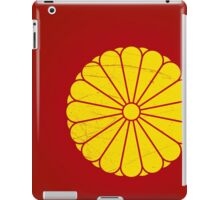 Japanese Emperor seal iPad Case/Skin