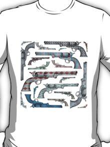 Happy Vintage Pistols T-Shirt