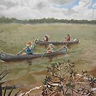 Girl Scout Camp Riverpoint, Florida by Wendy Crouch