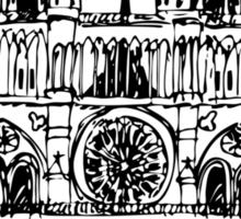 Notre Dame Sticker