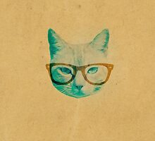 Hipster Cat by hyakume