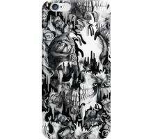 Gone in a splash, skull pattern iPhone Case/Skin