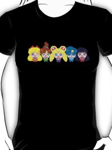 In the name of the moon we will punish you! T-Shirt