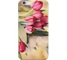 Vintage Tulips iPhone Case/Skin