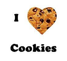 Cute I love cookies design! :) by heidilauren27