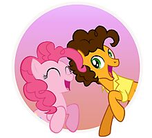 Pinkie Sandwich Photographic Print