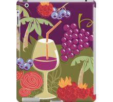 Sweet Summer Wine Smoothies iPad Case/Skin