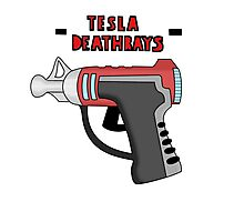 Tesla Deathrays  Photographic Print