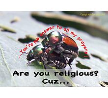 You're the answer to all my prayers! Photographic Print