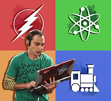 The Big Bang Theory Sheldon Cooper by AllTimeNicole