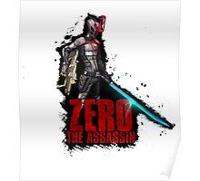 Borderlands 2 - Zer0 The Assassin Poster
