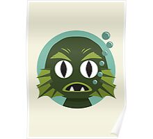 Little Creature from the Black Lagoon Poster